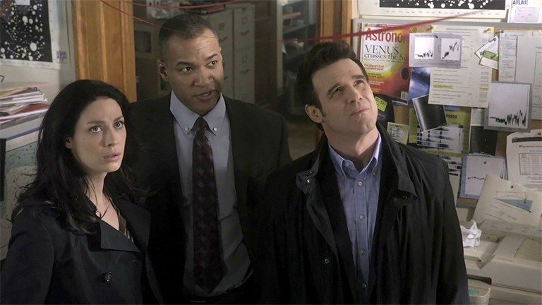 Screengrab from Warehouse 13