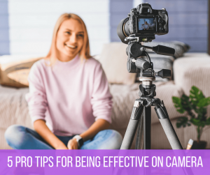 Top 5 Pro On-Camera tips